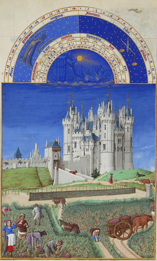 Limbourg brothers [Public domain], via Wikimedia Commons