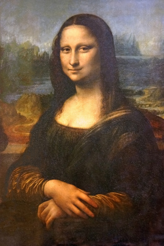 Mona Lisa. Photograph by Dennis Jarvis. CC BY-SA 2.0